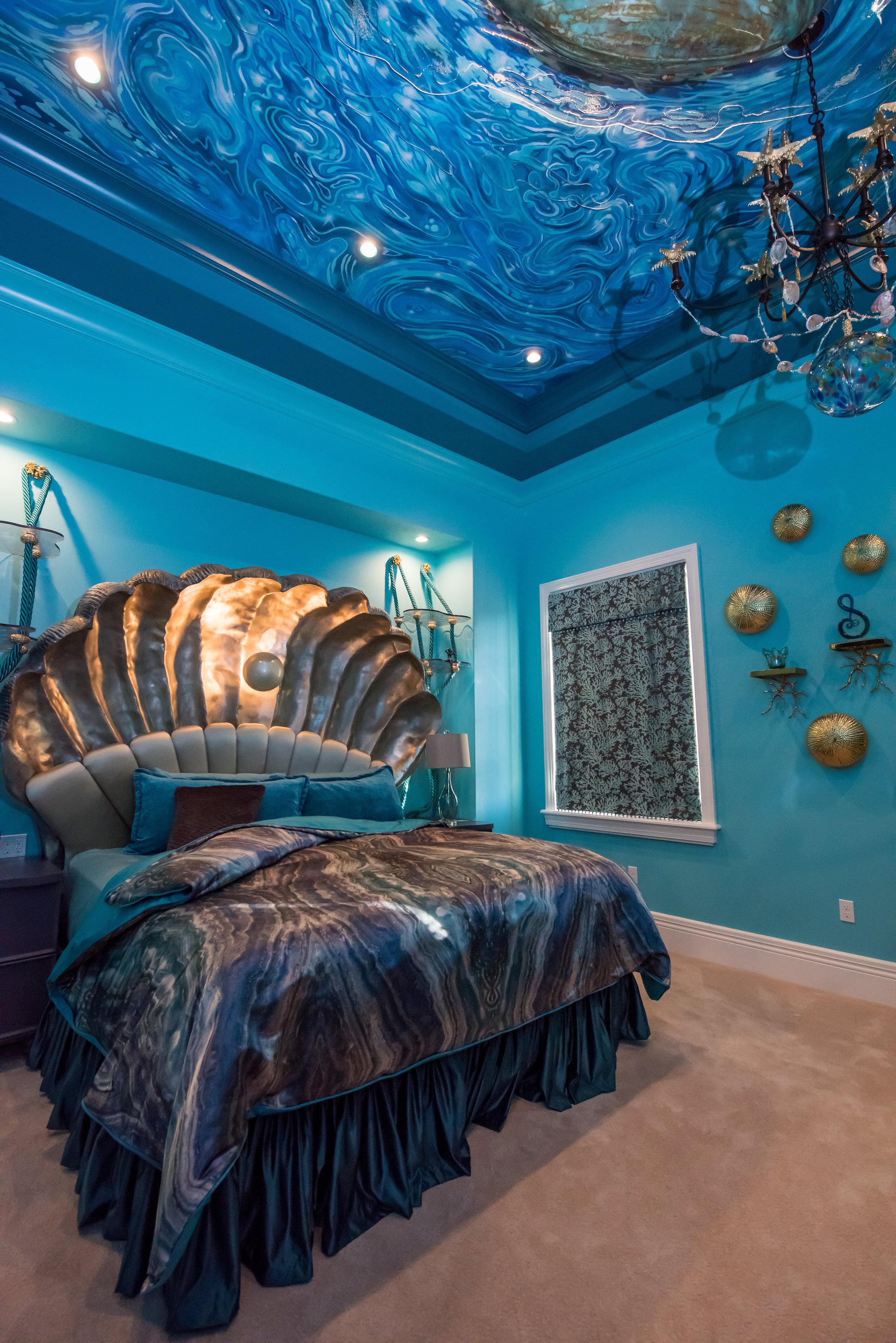Italianate Design Under the Sea Bedroom – Derrick Builders